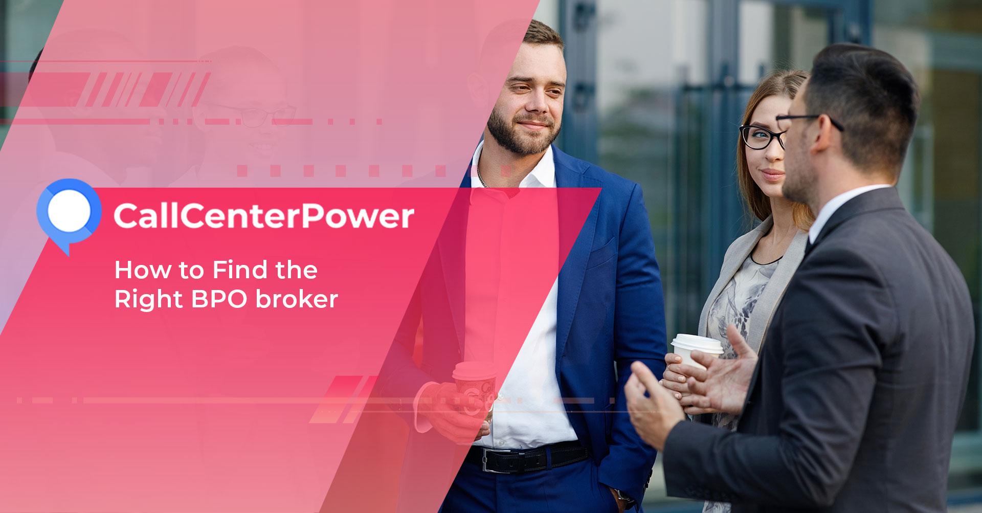 BPO Broker, Outsourcing